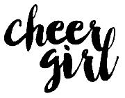 cheer girl font name