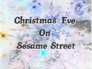 """Christmas Eve on Sesame Street"" font"