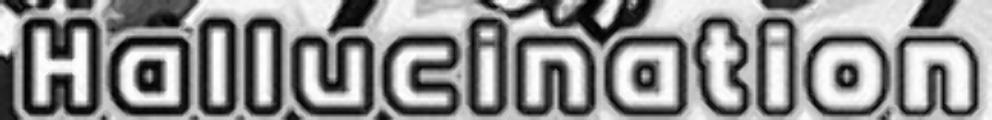 Hallucination font?