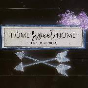 looking for the 'home' nad 'sweet' font names