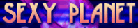 SEXY PLANET font?