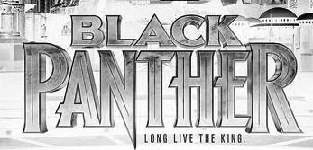 Black Panther 2018 movie font