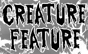 Creature Feature (Band) Font?