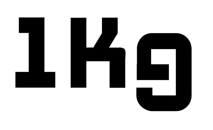 1kg 1kg