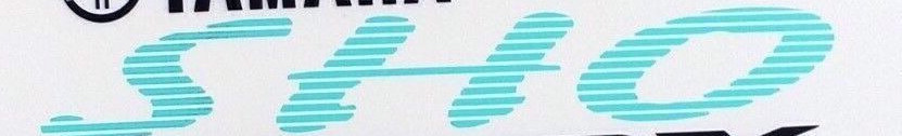 Yamaha sho Vmax font