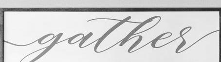 gather font