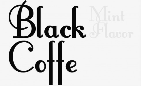 Geez. The fonts just keep on comin. Anyone up for some coffe?