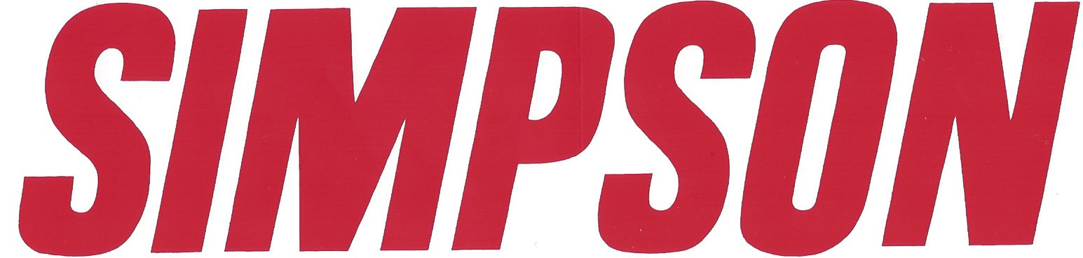Simpson Racing Font Help