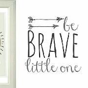 Be brave fonts