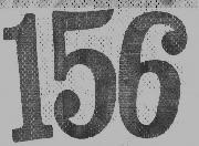 156 font