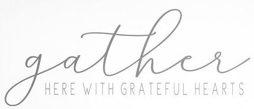 looking for the gather font please