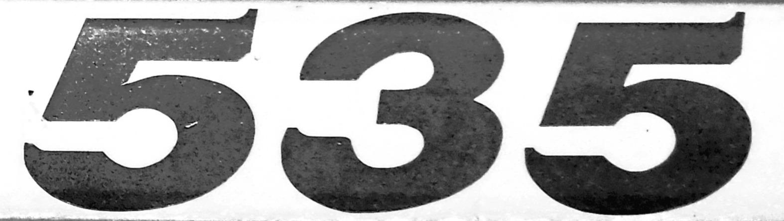 Number 535
