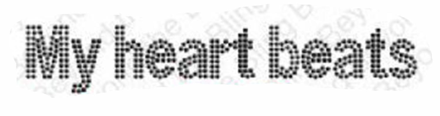 a dot font