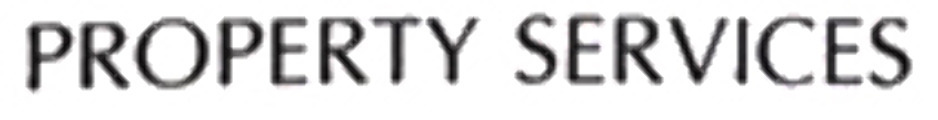 PROPERTY SERVICES - Font name ?