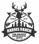 i hope that you can identify. the harris ranch font