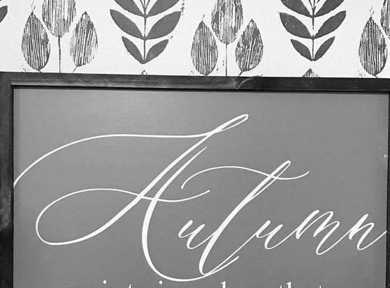 Autumn font
