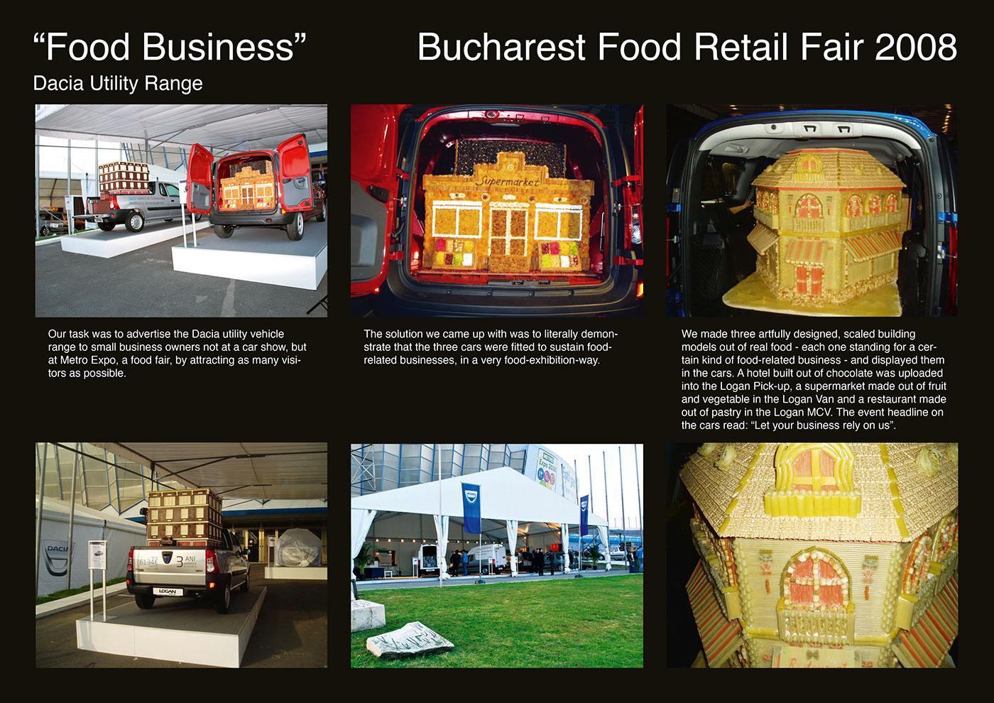 Dacia food fair partnership