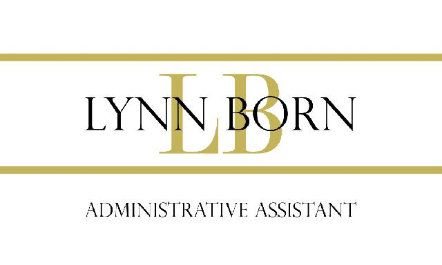 Lynn Born Business Card